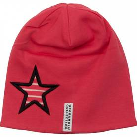 Star cap fleece, raspberry/l.pink -  - geggaw1610 - 1