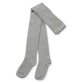 Waffel Tights, grey melange -  - 7W17G210 - 1
