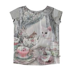 Rubertha T-shirt, Cat's Teaparty -  - 2S19A220S1 - 1