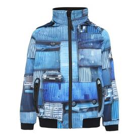 Cloudy jacket, Blue Containers -  - 5S19L104S1