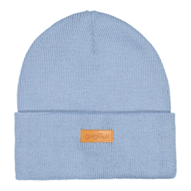 Basic knitted beanie, STONE BLUE -  - BKB1801 - 1