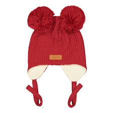 Baby beanie with double tuft, SALSA -  - CDT1801 - 1