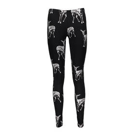 Bambi leggings ADULT, black/silver -  - metsolaaw17drop31 - 1