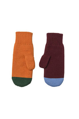 JOY WOOL mittens -  - papuaw16211 - 1