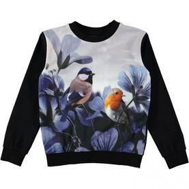Birds of Poetry shirt, Regine -  - 2W17A421 - 1