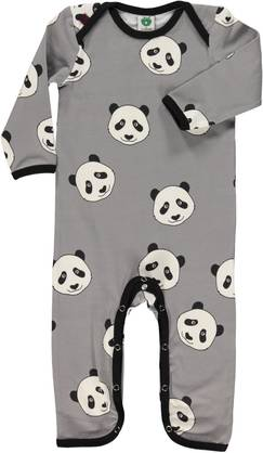 Body suit with panda face, wilde dove -  - smofolkaw17a1 - 1