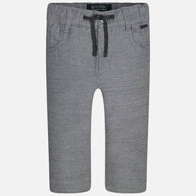 Combined knitted trousers, grey -  - 3G2573031 - 1