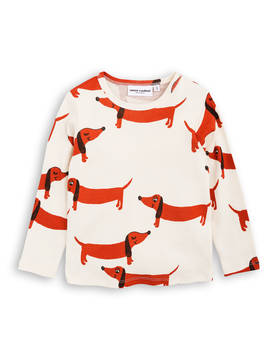 DOG LS TEE, offwhite -  - 1772013411 - 1