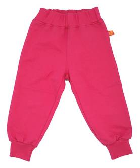 French terry pants, cerise -  - LFSS1409-1