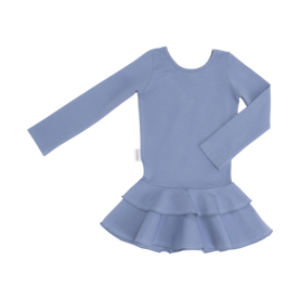 Frilla dress, SMOKEY BLUE 140-152 -  - gugguuaw1708c1 - 1