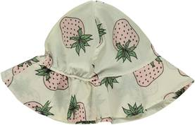 Hat with strawberry, cream -  - smafolkss17a1 - 1