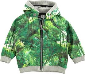 High jacket, jungle print - - 5S16L102-1 - 1