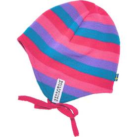 Knitted baby helmet, cerise -  - AW14269142-1 - 1