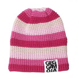 Knitted cap, cerise mix -  - 158AW13-1 - 1