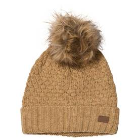 Lamb wool sailor hat w. fur pom, cocoon -  - melton5700101 - 1