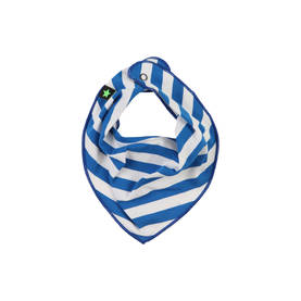 Nick bib, clear blue stripe -  - 17411801-1 - 1