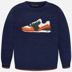 Sneakers sweater, mixed blue -  - 7B7301021 - 1
