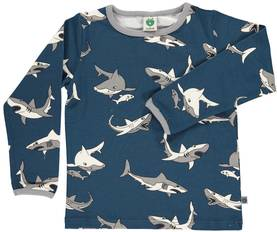 T-shirt with shark, majolica -  - smafolkaw171 - 1