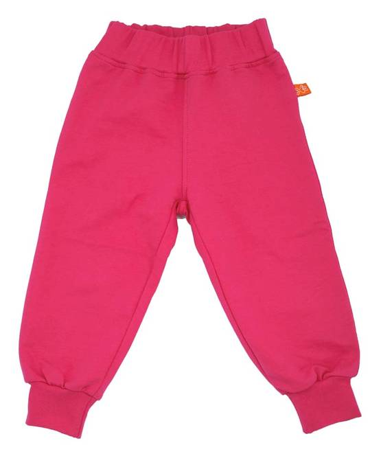 French terry pants, cerise - Housut - LFSS1409-1 - 1