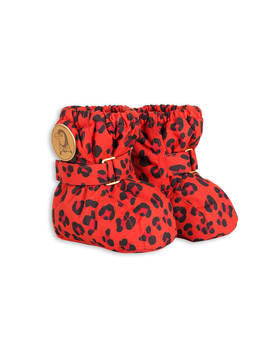 ALASKA LEOPARD BOOT, red -  - 1676010542 - 1