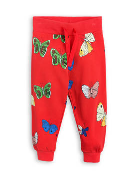 BUTTERFLIES SWEATPANTS, red -  - 1773011442 - 1