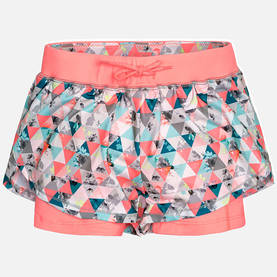 Double stamped shorts, neon nectr -  - mayss17b042 - 1