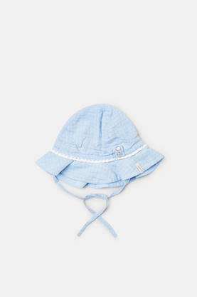 Summer hat, light heather blue -  - Espritrl9003102 - 1