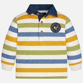 L/s stripes polo, sauce -  - 3G2125042 - 1