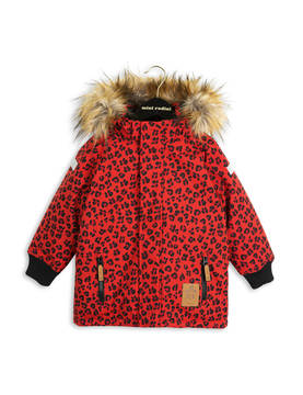 SIBERIA LEOPARD JACKET, red -  - 1671010942 - 1