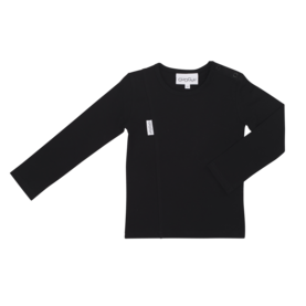 Unisex tricot shirt, BLACK 140-152 -  - gugguuaw1701a2 - 1