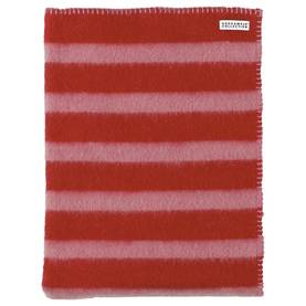 Woolblanket, pink/red -  - AW14700-2 - 1