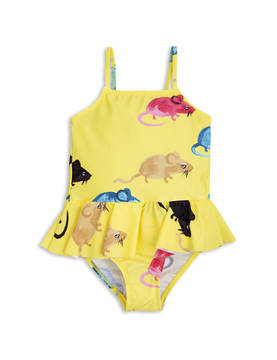 MR MOUSE SKIRT SWIMSUIT, yellow -  - 1718011623 - 1