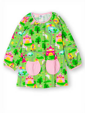 Princess castle tunic, green -  - jnyaw173 - 1