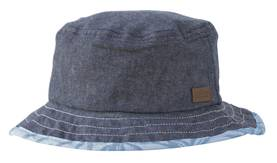 Reversible hat, denim/ blue -  - melton510016203 - 2