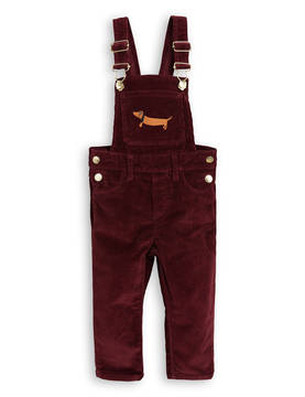 CORD DUNGAREES, burgundy -  - 1773011943 - 1