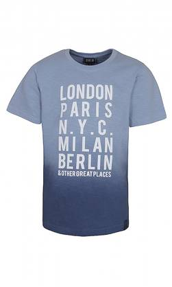 City t-shirt, blue -  - kidsup7603033 - 1