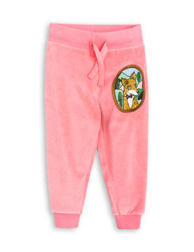 FOX VELOUR SWEATPANTS, pink -  - 1773015033 - 1