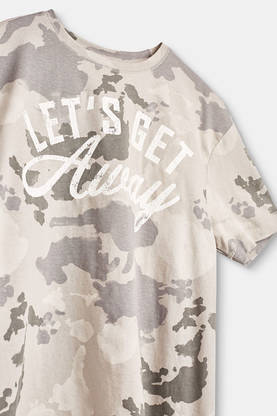 T-shirt, grey -  - espritrl1032603 - 1