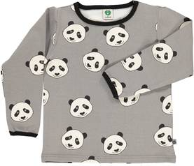 T-shirt with panda face, Wilde Dove -  - smafolkaw1713 - 1