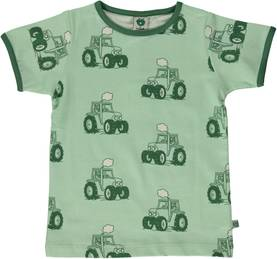 T-shirt with tractor, spray -  - smafolkss17a3 - 1