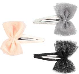 Tull Bow Clips, Opal Grey -  - 7S17T803 - 1