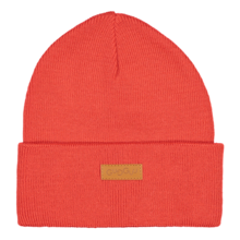 Basic knitted beanie, BRIGHT RED -  - BKB1804 - 1