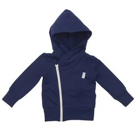 College hoodie, DARK BLUE/grey -  - CH-00054 - 1