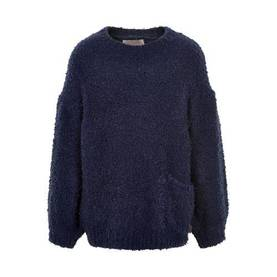 Pullover Boucle, navy night -  - creamie820854