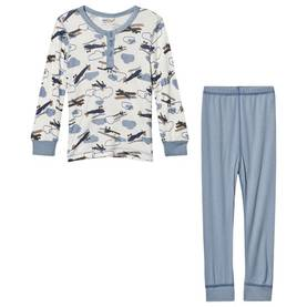Airplanes pyjamas, white -  - johaaw1704