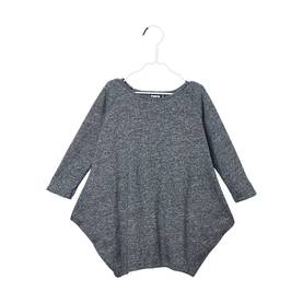 KANTO dress, fuzzy grey -  - papuaw17024 - 1