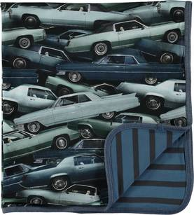 Niles blanket, Stacked Cars -  - 7W17W1014