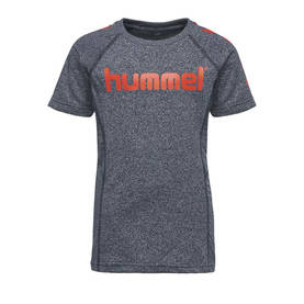 Pitter T-shirt, total eclipse -  - hummel2000767364 - 1