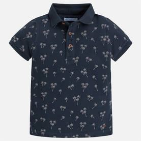 S/s polo, blue graphite -  - ma5G3138054 - 1