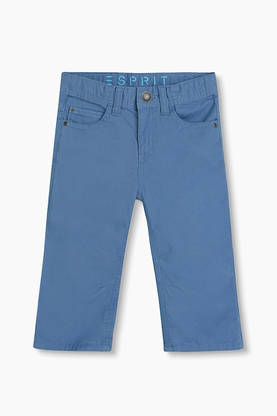 5-pocket capris, blue -  - espritrj22124 - 1